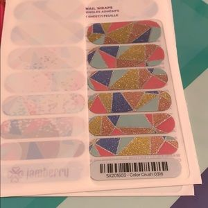 Jamberry wrap- Color Crush